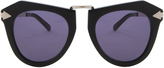 Karen Walker One Orbit Black Sunglasses