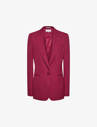 Reiss Miller slim-fit wool-blend blazer