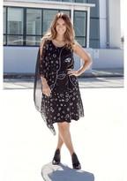 Ulla Popken Sleeveless Knee-Length Dress