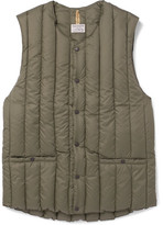 Rocky Mountain Featherbed Six Month Shell Down Gilet - Green