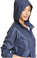 Joe Fresh Women's Popover Active Jacket, JF Midnight Blue (Size S)
