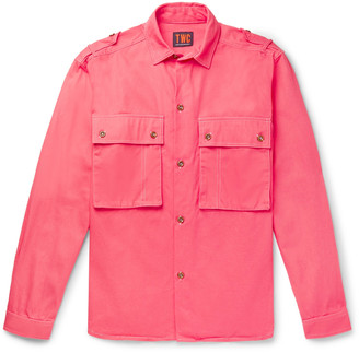 The Workers Club Cotton-Twill Overshirt