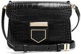 Givenchy Nobile mini crocodile-effect cross-body bag