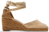 Castaner Carina canvas espadrille wedge sandals