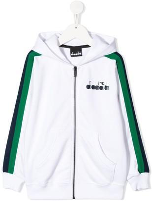 Diadora Junior Zip Front Hoodie