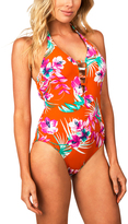 Leilani Orange Marianas One-Piece