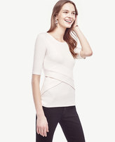 Ann Taylor Crossover Top
