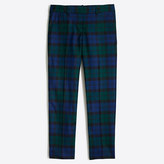 J.Crew Factory Skimmer pant in plaid