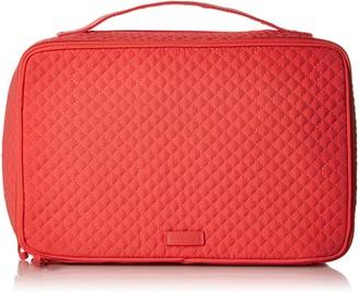 Vera Bradley Iconic Large Blush and Brush Case Microfiber