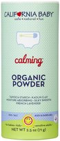 California Baby Calming Organic Powder