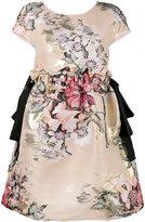 Fendi floral fil coupé mini dress - women - Polyester/Cotton/Metallic Fibre/Silk - 38