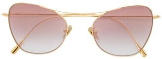 Cutler & Gross Cat-eye Sunglasses