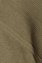 Stella McCartney Fine-knit wool and silk-blend sweater dress