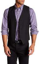 Topman Black Five Button Extra Trim Waistcoat