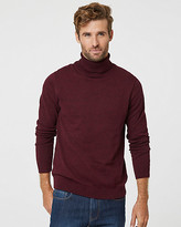 Le Château Tonal Cotton Turtleneck Sweater