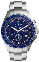 Fossil 'Sport 54' Chronograph Bracelet Watch, 44Mm