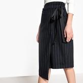 Suncoo Wool Blend Knee-Length Skirt