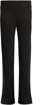 Helmut Lang Ribbed-knit wool-blend trousers