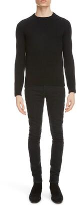 Saint Laurent Crewneck Cashmere Sweater