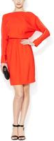 "L'Agence L""AGENCE Women's Dolman Sleeve Draped Dress"