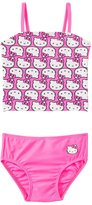 Hello Kitty Girls' Kitty Tankini Two Piece Set (2T4T) - 8129657