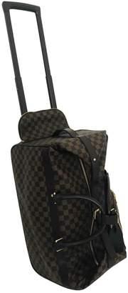 Louis Vuitton \N Brown Cloth Travel bags