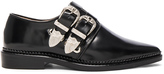 Toga Pulla Buckled Leather Oxfords