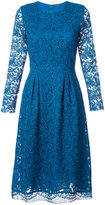 ADAM by Adam Lippes flared lace dress - women - Silk/Cotton/Nylon/Viscose - 2