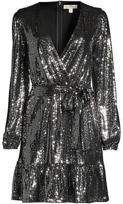 MICHAEL Michael Kors Mirror Wrap Dress