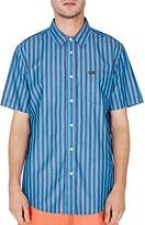 Obey Langton Short-Sleeve Striped Regular Fit Shirt