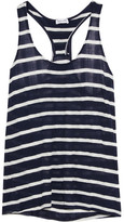 Splendid Huntington Striped Jersey Tank - Navy