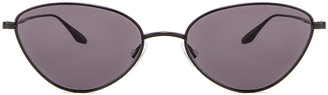 Barton Perreira Calypso Sunglasses in Black | FWRD