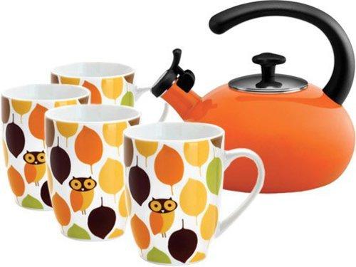Rachael Ray 5-pc. Little Hoot Tea Gift Set