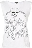R 13 Nothing Sacred T-shirt - women - Cotton - M