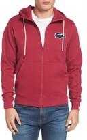 Lacoste Men's Big Croc Hooded Fleece Sweatshirt