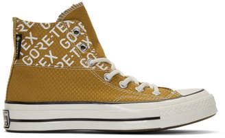 Converse Tan Gore-Tex Chuck 70 Hi Sneakers
