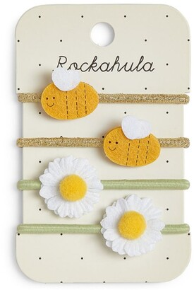Rockahula Bertie Bee and Daisy Hairbands (Set of 4)