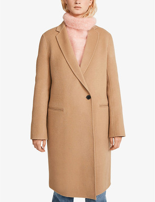 Claudie Pierlot Goodman single-breasted wool coat