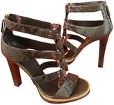 Gucci Khaki Sandals