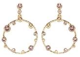 Oscar de la Renta Swarovski crystal-embellished earrings