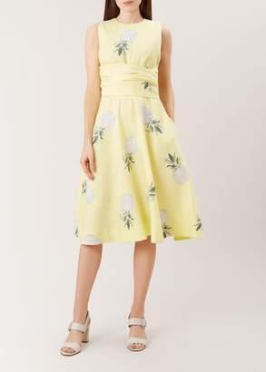 Hobbs Twitchill Linen Dress
