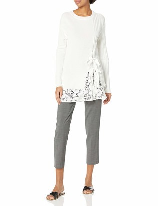 French Connection Women's Trillium Knits Lace Sweater