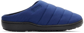SUBU Blue Uneveness Loafers