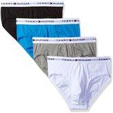 Tommy Hilfiger Men's Underwear 4 Pack Cotton Classics Hip Briefs