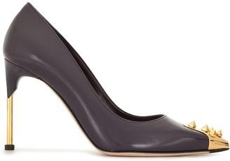 Alexander McQueen Stud-Detail High-Heel Pumps