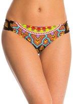 Trina Turk Swimwear Moroccan Medallion Side Shirred Hipster Bikini Bottom 8142870