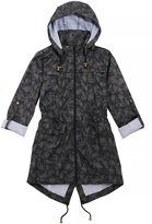 Brave Soul Womens/Ladies Jungle Fern Leaf Pattern Coat