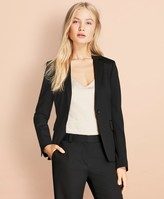 Brooks Brothers Stretch Wool One-Button Jacket