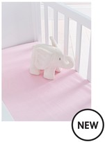 Silentnight Pack Of 2 Jersey Fitted Crib Sheets