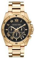 Michael Kors Women's 'Brecken' Chronograph Silicone Strap Watch, 44Mm